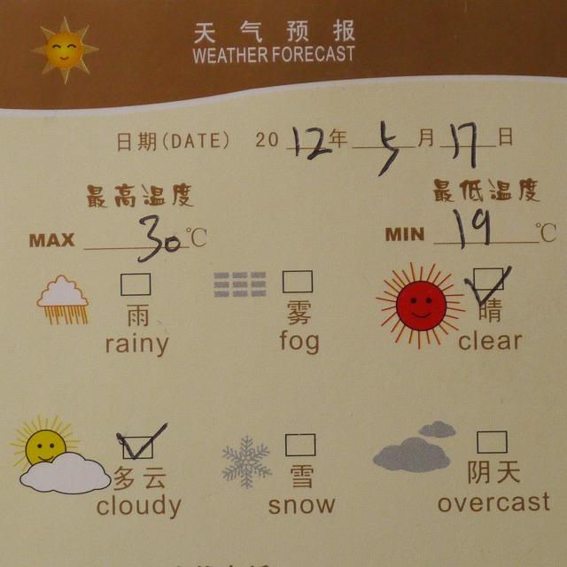 記号 雪 天気